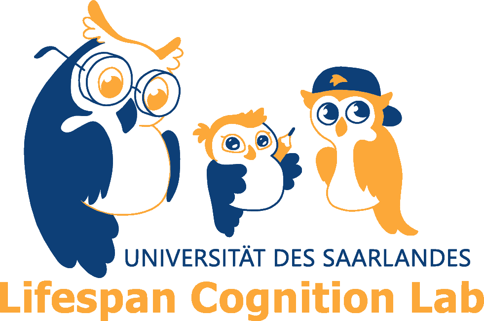 Logo Lifespan Cognition Lab der Universität des Saarlandes
